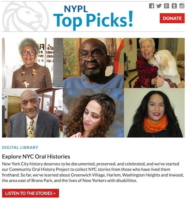 NYPL Top Picks!